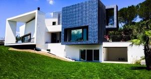 Villa moderna - facciata